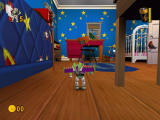Disney•Pixar Toy Story 2: Buzz Lightyear to the Rescue! Windows Andy's room.