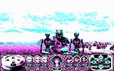 Crystals of Arborea DOS Enemies stalk you by the beach. (CGA)