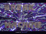 Break Machine DOS Main menu