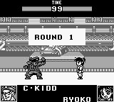 World Heroes 2 JET Game Boy round 1