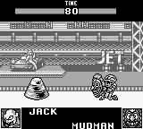 World Heroes 2 JET Game Boy mudman without his mask