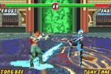 Mortal Kombat: Deadly Alliance Game Boy Advance Frost makes the floor slippery