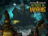 Mystery Case Files: Return to Ravenhearst Windows Main menu