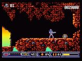 Turrican II: The Final Fight Amiga A well hidden extra life - believe me, this game is all extra lifes, you just need to find them :)