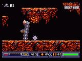 Turrican II: The Final Fight Amiga Fighting a dragon - Turrican can turn into a wheel which rolls on the floor. You can't harm the dragon this way, but you're invincible AND...