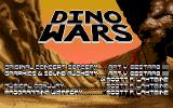 Dino Wars Amiga Title screen