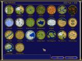 Age of Mythology Windows The different maps to choose from.