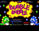 Bubble Bobble Amiga Title screen