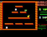 Bubble Bobble Amiga Stage 2 - losing a life
