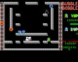 Bubble Bobble Amiga Stage 8 - it's getting crowded