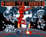 Hard 'n' Heavy Amiga Title screen