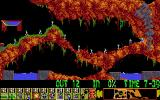 Lemmings DOS Bash through the wall to continue on  (VGA)