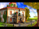 Broken Sword 2.5: The Return of the Templars Windows Looks homey .. but is the occupant friend or foe?