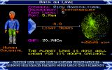 Elite Atari ST Info about the planet Lave