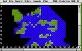 Empire: Wargame of the Century Atari ST Production map