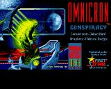 Omnicron Conspiracy Amiga Title screen #1
