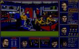 Star Trek: The Rebel Universe Atari ST The bridge