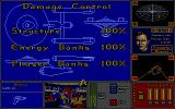 Star Trek: The Rebel Universe Atari ST Damage control