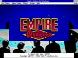 Empire Deluxe Windows 3.x Title screen
