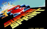 Super Sprint Atari ST Second title screen