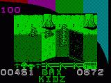 BMX Kidz ZX Spectrum Beginning of stage 2. I have lots of energy so should be able to win!
