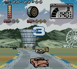 Test Drive: Le Mans Game Boy Color Races start with action, no starting line here.