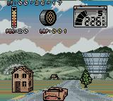 Test Drive: Le Mans Game Boy Color What a nice little house