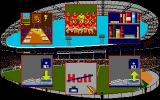 Kenny Dalglish Soccer Manager Atari ST Main menu