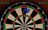 John Lowe's Ultimate Darts Atari ST Trying to reach 501 points.