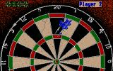John Lowe's Ultimate Darts Atari ST Trying to get the highest possible score.