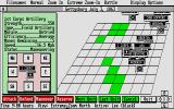 UMS: The Universal Military Simulator Atari ST A unit has been selected.