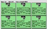 UMS: The Universal Military Simulator Atari ST Order of battle