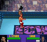 ECW Hardcore Revolution Game Boy Color Storm has no respect for the legend Sabu.
