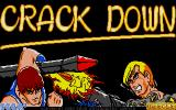 Crack Down Atari ST Title screen