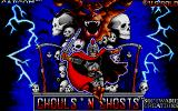 Ghouls 'N Ghosts Atari ST Title screen
