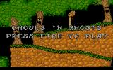 Ghouls 'N Ghosts Atari ST Time to start