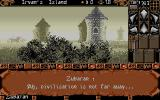 Ishar 2: Messengers of Doom Atari ST A small village