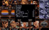 Ishar 2: Messengers of Doom Atari ST Info about a character