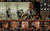Ishar 2: Messengers of Doom Atari ST Fighting monsters in the woods