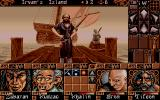 Ishar 2: Messengers of Doom Atari ST Time to leave this island