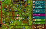 Kingmaker Atari ST Close up map view
