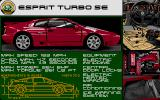 Lotus Turbo Challenge 2 Atari ST Lotus Esprit Turbo SE specifications