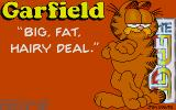 Garfield: Big, Fat, Hairy Deal Atari ST Title screen.