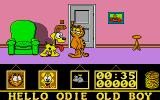 Garfield: Big, Fat, Hairy Deal Atari ST Odie and Garfield.