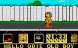 Garfield: Big, Fat, Hairy Deal Atari ST Garfield hit the streets.