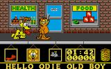 Garfield: Big, Fat, Hairy Deal Atari ST Health food store.