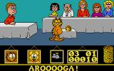 Garfield: Big, Fat, Hairy Deal Atari ST At pizza party.