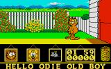 Garfield: Big, Fat, Hairy Deal Atari ST This is not my house.