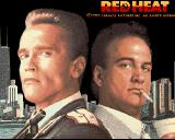 Red Heat Amiga Title screen.