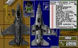 F-16 Combat Pilot Atari ST The repair screen